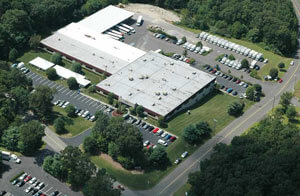 View from the sky of the Basement Systems® international headquarters.