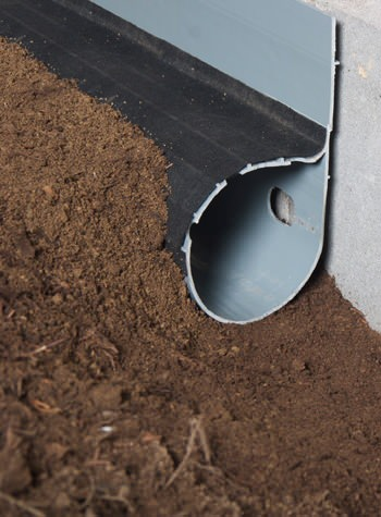 crawl space drain system installed in Keosauqua
