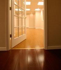 Basement Wood Flooring Installed In Palmyra, Illinois, Iowa, And Missouri