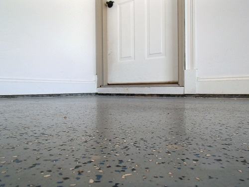 Sinking concrete slab floor