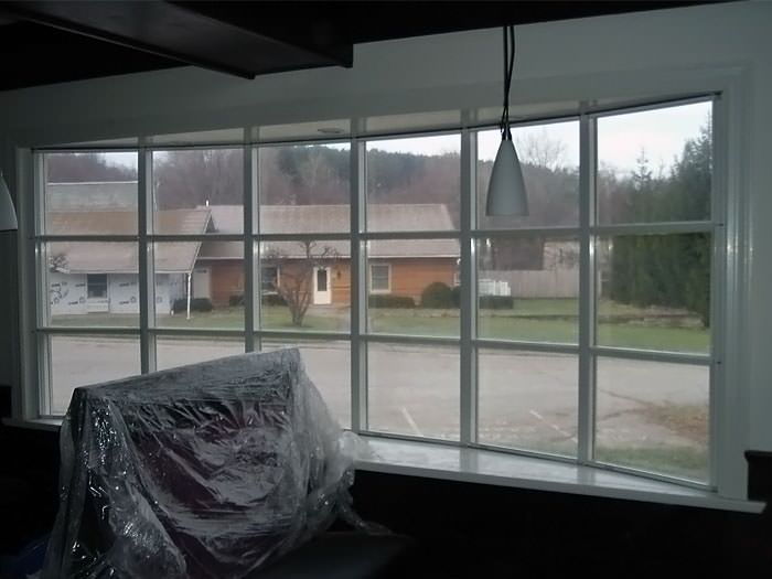 Basement window insulation panels installed in illinois for Energy efficient bay windows