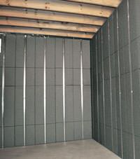 Thermal insulation panels for basement finishing in Kirksville, Illinois, Iowa, and Missouri